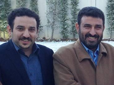 Akram Ayyash (l) en Walid Ayyash (r)